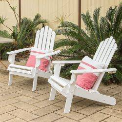 Set of 2 Timberlake Cape Cod Adirondack Chairs
